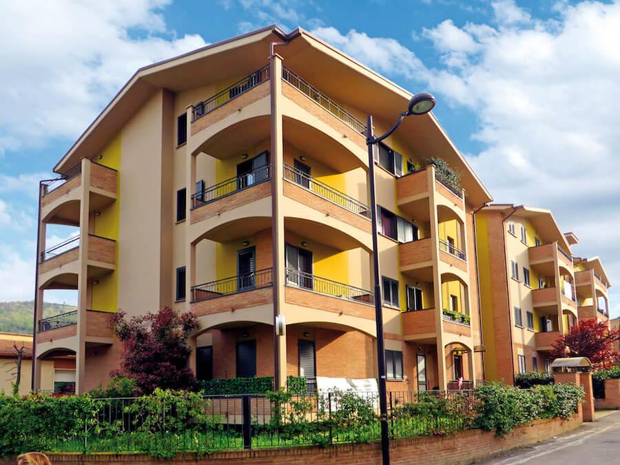 """Complesso residenziale condominio """"Edil FAG"""" - Montorio"""