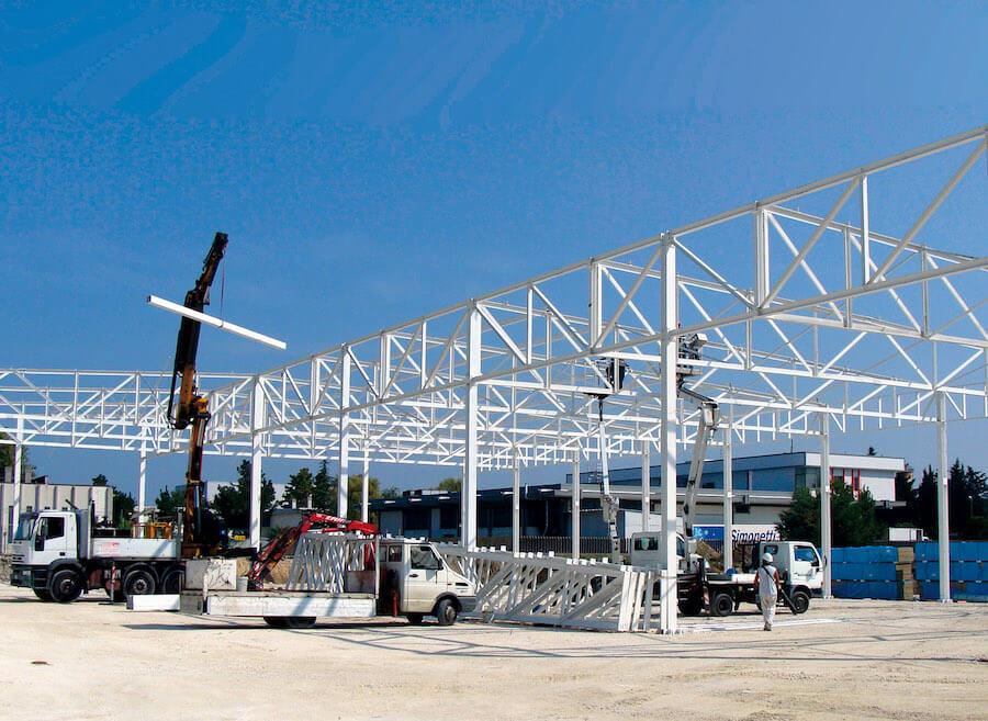 Realizzazione complesso industriale Adriatica Press