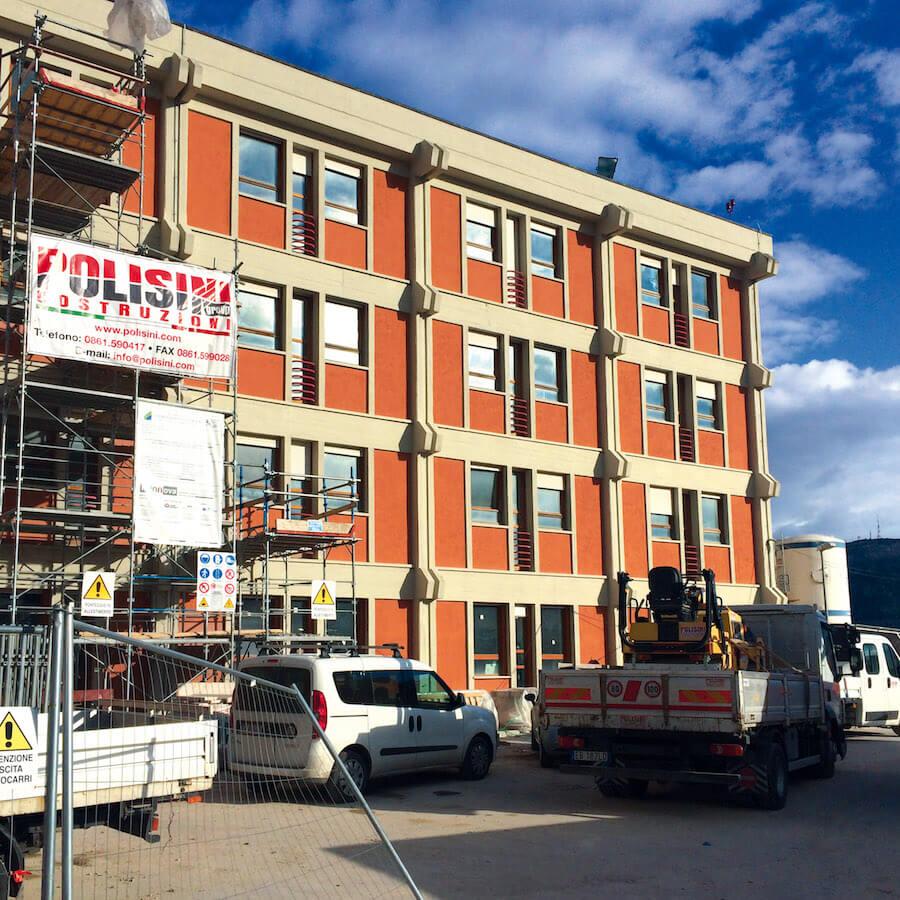 Ripristino strutturale e funzionale dell'Edificio Delta 8 dell'ospedale civile di L'Aquila