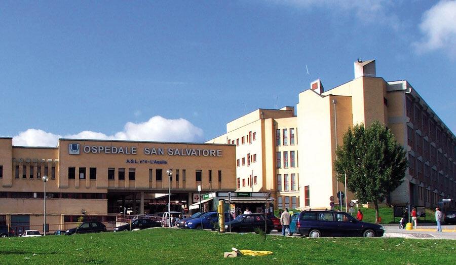 Edificio 10 Ospedale San Salvatore - L'Aquila