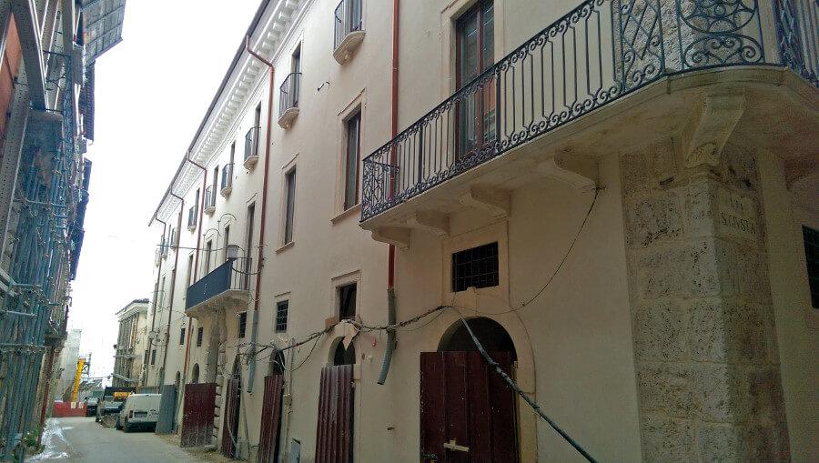 Restauro e adeguamento sismico Aggregato 478 - L'Aquila