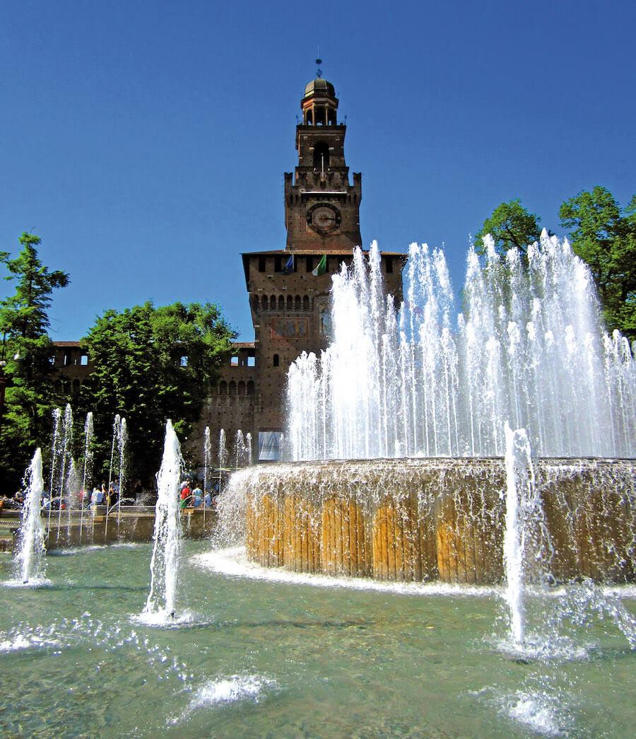 Manutenzione ordinaria dei monumenti a Milano