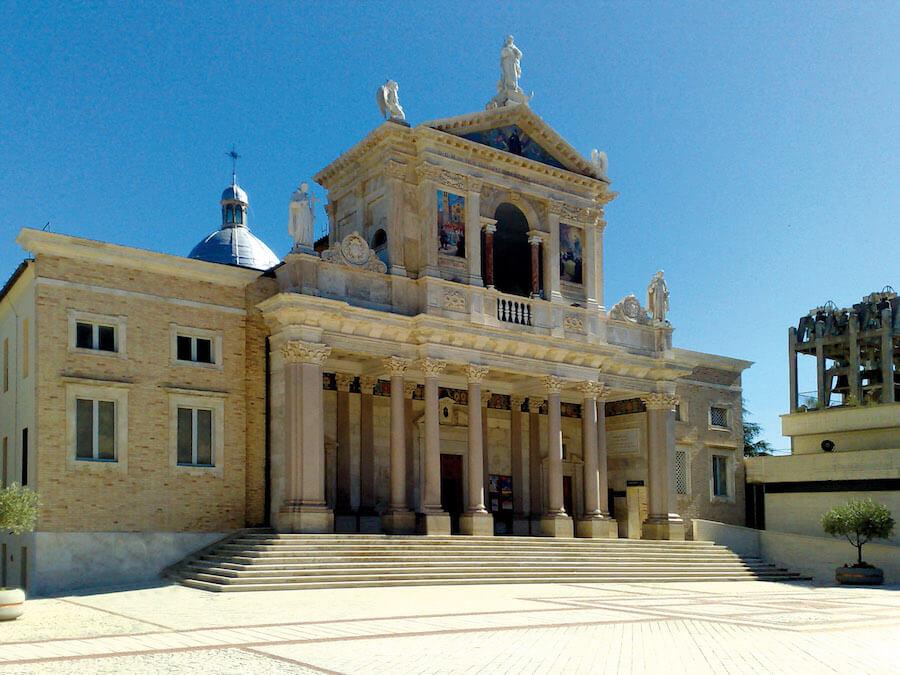 Restauro Santuario di S.Gabriele dell'Addolorata