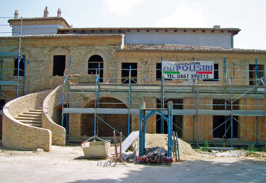 Restauro Villa Clemente - Notaresco