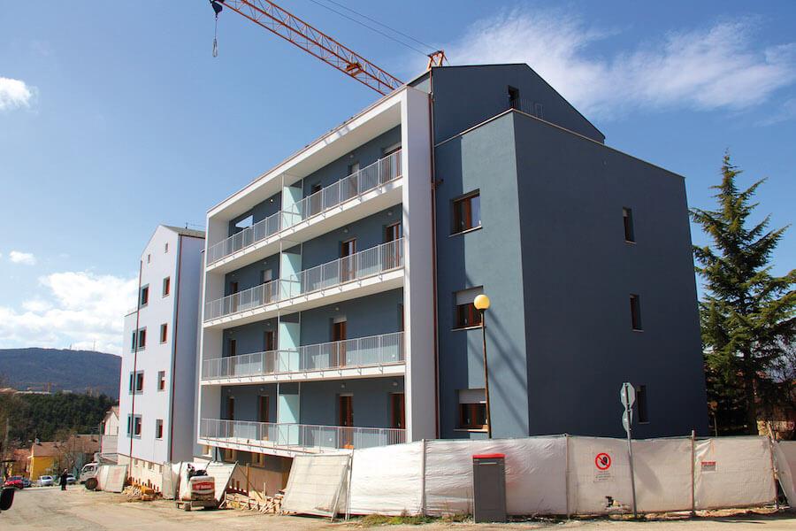 Sostituzione edilizia condominio Stella Maris
